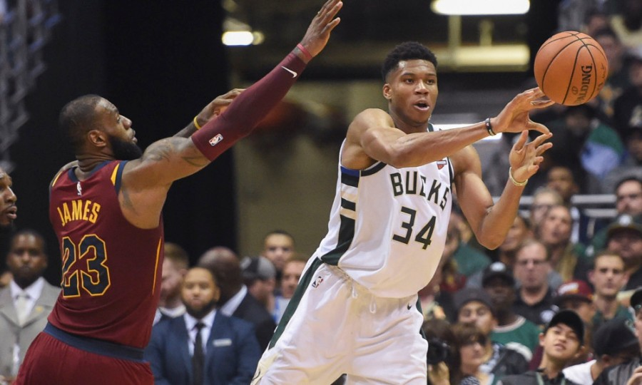 USP NBA: CLEVELAND CAVALIERS AT MILWAUKEE BUCKS S BKN MIL CLE USA WI