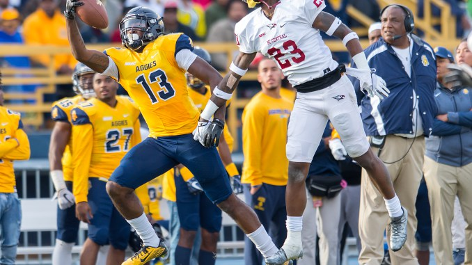 2017 A&T Football vs NC Central  www.ncataggies.com - Photo by: Kevin L. Dorsey